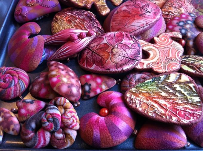 Moje kolekce šperků z polymerové hmoty inspirovaná barvami podzimu.